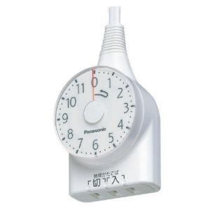 パナソニック ダイヤルタイマー 11時間形 ホワイト 1m WH3111WP OAタップ・延長コードの商品画像