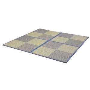 カジュアルな市松柄のユニット畳です。い草には空気の自然浄化作用、湿度の調節作用などがあります。また汚...