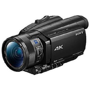 ソニー SONY ビデオカメラ FDR-AX700 ブラック ハンディカム 4K Wi-Fi対応(直...