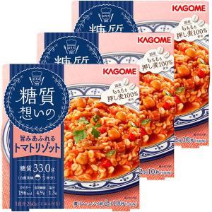ひよこ豆やキノコ入りの、チキンとトマトの旨みあふれる、レンジで温めるだけで完成のトマトリゾットです。...
