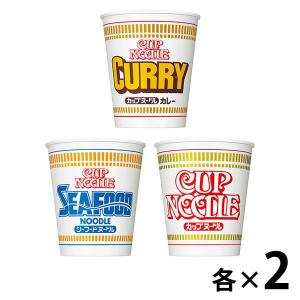 カップ麺 定番カップヌードル 3種×2個セット 日清食品 ラーメン カップラーメン