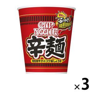 カップ麺 カップヌードル 辛麺 82g 1セット(3個) 日清食品 カップラーメン