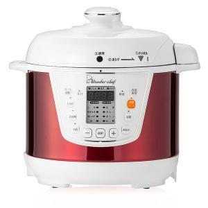 火力の自動調節で失敗を防止。調理が終われば自動で保温。火を使わない電気圧力鍋なので、高齢者にも安心簡...