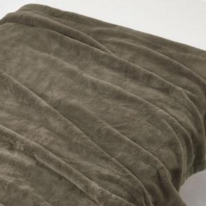 SALE/ 無印良品 吸湿極厚手アクリル混毛布・S/ブラウン 140×200cm 82221534 ...