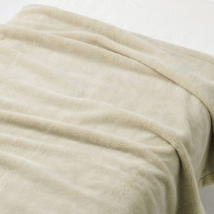 SALE/ 無印良品 吸湿極厚手アクリル混毛布・S/ベージュ 140×200cm 82221510 ...