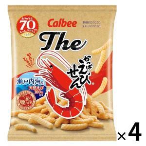 Theかっぱえびせん 70g 4袋 小麦スナック