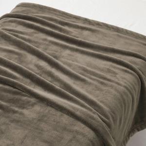 無印良品 あたたかファイバー厚手毛布・D/ブラウン 180×200cm 82221626 良品計画 ...