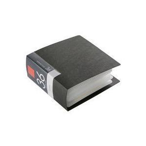 バッファロー BUFFALO CD&DVDファイルケース ブックタイプ 36枚収納 ブラック BSCD01F36BK 1個 PCアクセサリーの商品画像