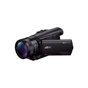 ソニー SONY ビデオカメラ FDR-AX100 ブラック ハンディカム 4K Wi-Fi対応(直...