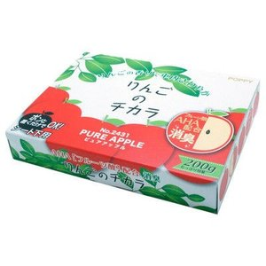 りんごの香りとパッケージがかわいいシート下タイプの消臭芳香剤 ダイヤケミカル りんごのチカラ シート...