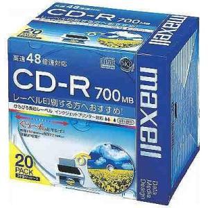 CD-R 700MB マクセル CD-R700MB 5mmプラケース CDR700S.WP.S1P2...