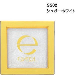 サナ excel(エクセル) シマリングシャドウ SS02(シュガーホワイト) 常盤薬品工業 アイシ...