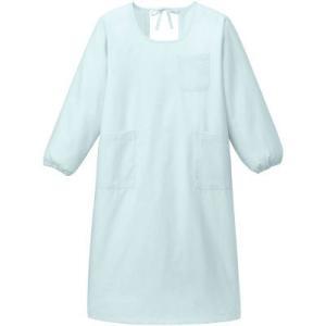 リーズナブルでシンプルな予防衣ウェアをゆったり包み込む長袖です。制菌加工防縮加工 リーズナブルでシン...