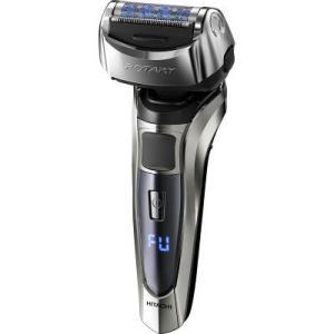 ハイブリッドロータリーで剃り残しを抑えて深剃り3D密着レザーヘッドで肌に密着デジタル表示による10段...
