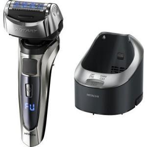 ハイブリッドロータリーで剃り残しを抑えて深剃りデジタル表示による10段階の電池残量ランプ充電も合わせ...