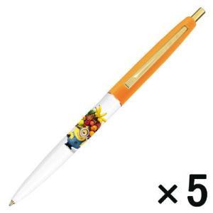 人気のミニオンズクリックゴールドの黒芯ボールペンです。 人気のミニオンズの黒芯油性ボールペンです。本...