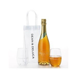 ワインアイスバックとワイングラス、ノンアルコールシードルのセット DEAN&DELUCA(ディーン&...