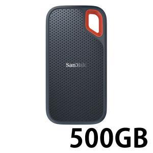 サンディスク エクストリーム ポータブルSSD 500GB SDSSDE60-500G-J25 1個...