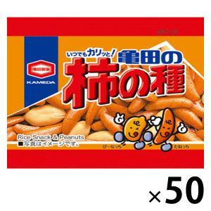 みんな大好きな「柿の種」 みんな大好きな「柿の種」 亀田製菓 ミニサイズ柿の種 1箱(10g×50袋...