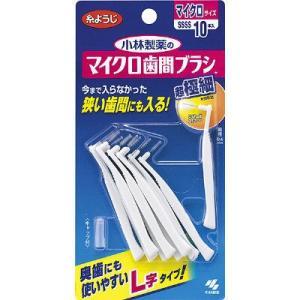 L字状のネックで奥歯の歯間にも使いやすく、超極細サイズのブラシで今まで入らなかった狭い歯間にも入る ...