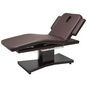 リクライニングポジション時に電動で足部分が曲がる快適な、2モーター式電動ベッドです。 足部分が電動で...