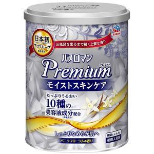 バスロマン プレミアム モイストスキンケア バニラフローラルの香り 600g 1個 アース製薬