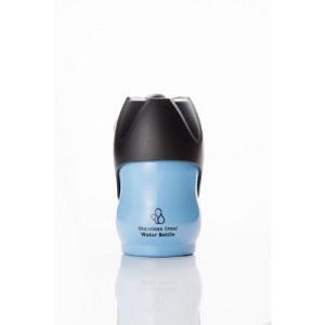 ループ ステンレスボトル S ブルー 水ボウル 給水器・水筒 (犬用)