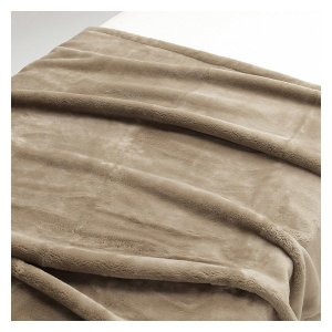 アウトレット/訳あり/わけあり 無印良品 吸湿極厚手アクリル混毛布・S/ベージュ 140×200cm...