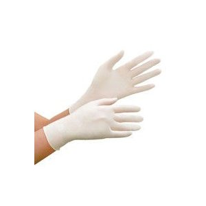 ディスポ手袋 ミドリ安全 ニトリル手袋 ベルテ 783N 粉付き ホワイト M 100枚入 1箱(1...