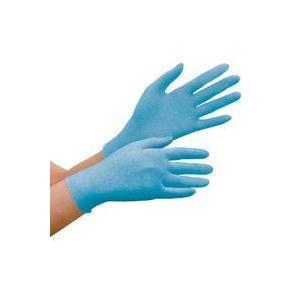 ディスポ手袋 ミドリ安全 ニトリル手袋 ベルテ 780N 粉なし ブルー S 100枚入 1箱(10...