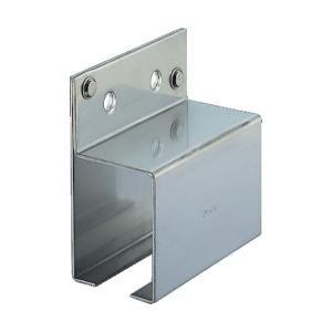 ハンガーレールのジョイント部に使用。取り付けピッチは、450〜500mmが標準となりますステンレス(...