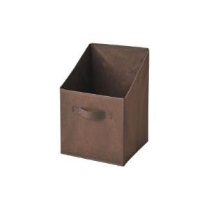 カラーボックスやメタルシェルフなど、様々な場所に使用できる収納ボックス。タテ型タイプの3個セットです...