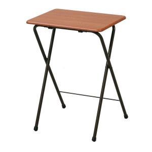 折りたたみ式のミニテーブル。使わないときはたたんでスッキリ収納が可能です。必要な時だけ出して使える便...