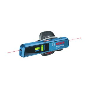 ポケットサイズの水平器にレーザー照射機能付です。5mのライン照射と20mのポイント照射が可能です。ウ...