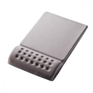 低反発ポリウレタンを採用したリストレスト一体型マウスパッド。手首の負荷を吸収して分散。長時間のPC作...