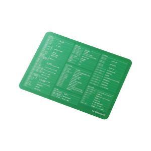 エレコム 爆速効率化マウスパッド for Excel 通常サイズ(200×155mm) グリーン M...