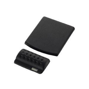 リストレストとマウスパッドを自由自在にレイアウト低反発ポリウレタンを採用し、長時間のPC作業における...