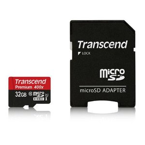 Transcend(トランセンド)のマイクロSDHCカードTS32GUSDU1はクラス10規格に準拠...