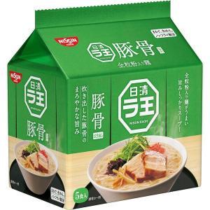 日清ラ王 豚骨 5食パック 1袋 袋麺・インスタントラーメン