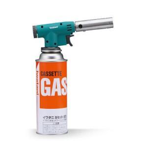 1400度の炎が活躍着火に便利なトリガー式点火レバー。炎の強弱を調整するつまみ。ボンベが1本付属して...