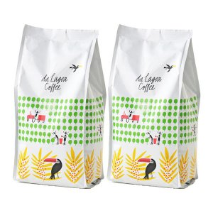 コーヒー粉/関西アライドコーヒーロースターズ ダラゴア農園ブレンド 1セット(300g×2袋) コー...