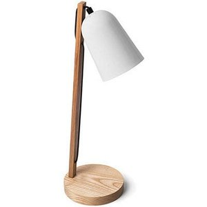 あなたの望む方に、シェードの向きを動かして暖かい明るさを与えられます。木材、スチール、コットンによる...