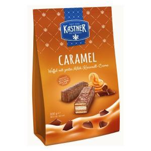 一口サイズのウエハースをチョコレートでコーティング。量もたっぷり入っています。キャラメル風味でコーヒ...