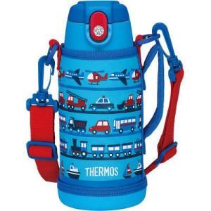 保温・保冷両用のステンレスボトルにもなる2ウェイボトル。ポーチには肩にやさしい幅広のストラップと長さ...