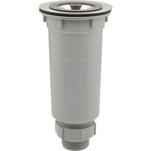 ミニキッチン用の流し台排水トラップです。取付穴径:88ミリ(絞り段外径116ミリ)取付はさみ込み厚:...