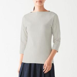 伸縮性に優れたフライス編みによる柔らかな素材とフィット感が特長です。オーガニックコットンを使っていま...
