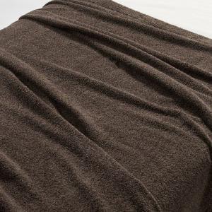 無印良品 綿パイルタオルケット・S/杢ブラウン 140×200cm 82051346 良品計画 毛布...