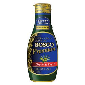 イタリア品質協会認定/日清オイリオBOSCOプレミアムEXVオリーブオイル 1本 オリーブオイル・油