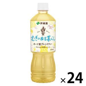 健康ミネラルむぎ茶 すっきり健康麦ブレンド 650ml 1箱(24本入) 麦茶(ペットボトル)