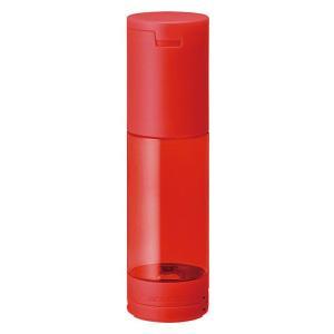 たおれないペンケース「オクトタツ」は、ペンケースの底面に内蔵された吸着パッドと衝撃低減バネにより、た...
